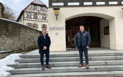 Herkens trifft: Bürgermeister Heiko Faber in Kieselbronn