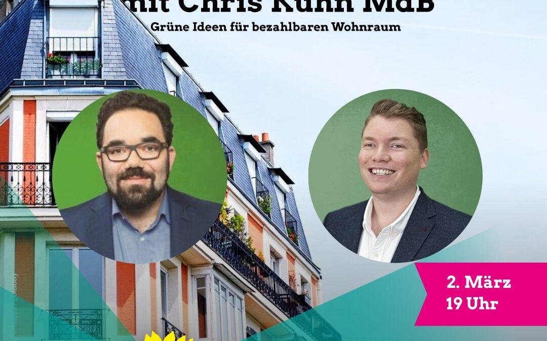 Herkens trifft: Chris Kühn MdB