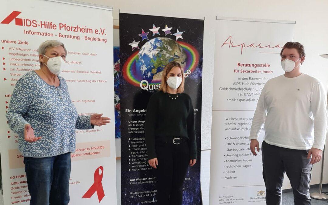 Herkens trifft: Aids Hilfe Pforzheim